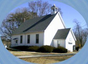 white meetinghouse